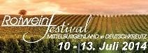 Flyer Rotweinfestival